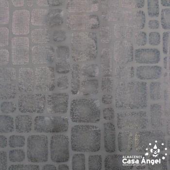 PAN DE ORO ESTAMPADO CON FOIL SERIE MIRTO ANCHO 150cm