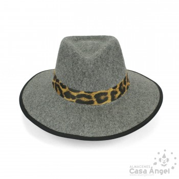 SOMBRERO INDIANA JONES GRIS