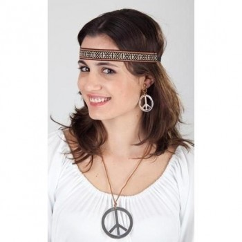 SET HIPPIE CON PENDIENTES COLLAR Y CINTA