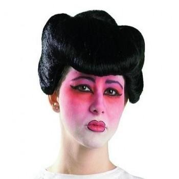 PELUCA CHINA SAMURAY MORENA