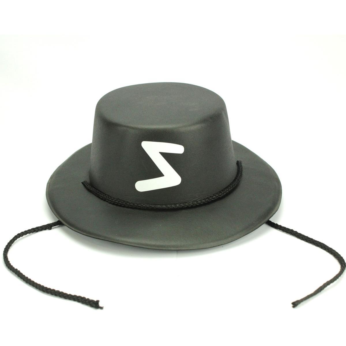Sombrero el Zorro Adulto Flocado