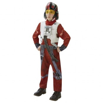 DISFRAZ XWING FIGHTER STAR WARS DELUXE INFANTIL
