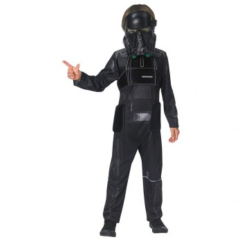 DISFRAZ DEATH TROOPER STAR WARS DELUXE INFANTIL