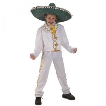 DISFRAZ MEXICANO INFANTIL DELUXE