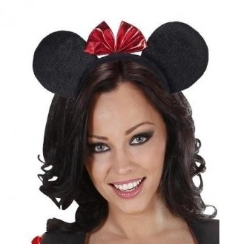 OREJAS RATITA MINNIE CON TOCADO
