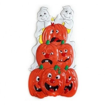 CALABAZAS DECORATIVAS HALLOWEEN PARED