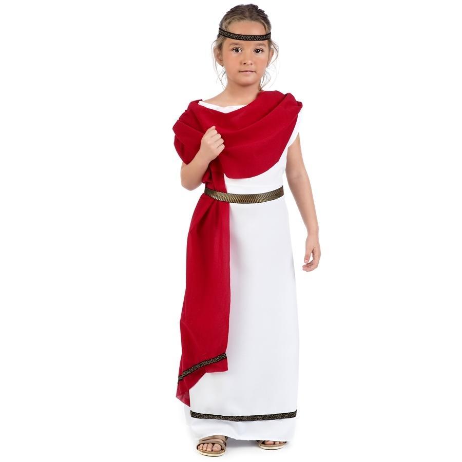 DISFRAZ DE ROMANA INFANTIL