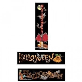 CARTEL HALLOWEEN DECORACIÓN 83cm